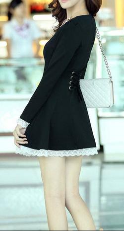 Ảnh số 8: Váy thêu ren / Size: M,L / Màu: Trắng, Đen, Ghi / Xuất xứ Made in Korea - Giá: 450.000