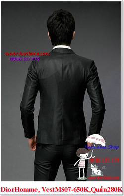 Ảnh số 6: Áo Vest Nam, Áo Vest Dior - NYQ 07, Áo Vest Hàn, Áo Vest Cưới - Giá: 650.000