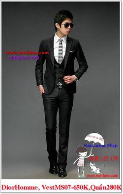 Ảnh số 12: Áo Vest Nam, Áo Vest Dior - NYQ 07, Áo Vest Hàn, Áo Vest Cưới - Giá: 650.000