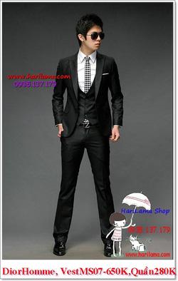 Ảnh số 13: Áo Vest Nam, Áo Vest Dior - NYQ 07, Áo Vest Hàn, Áo Vest Cưới - Giá: 650.000
