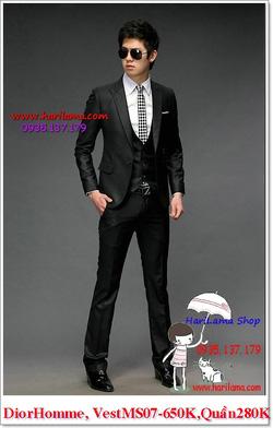 Ảnh số 14: Áo Vest Nam, Áo Vest Dior - NYQ 07, Áo Vest Hàn, Áo Vest Cưới - Giá: 650.000