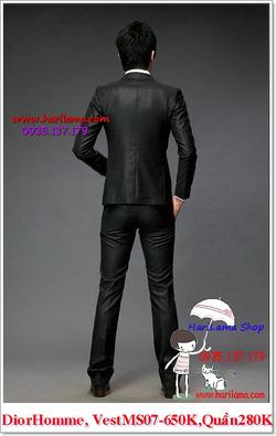 Ảnh số 15: Áo Vest Nam, Áo Vest Dior - NYQ 07, Áo Vest Hàn, Áo Vest Cưới - Giá: 650.000