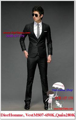 Ảnh số 16: Áo Vest Nam, Áo Vest Dior - NYQ 07, Áo Vest Hàn, Áo Vest Cưới - Giá: 650.000