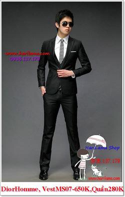 Ảnh số 17: Áo Vest Nam, Áo Vest Dior - NYQ 07, Áo Vest Hàn, Áo Vest Cưới - Giá: 650.000