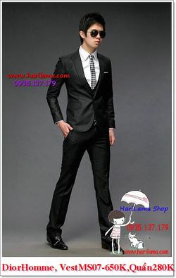 Ảnh số 18: Áo Vest Nam, Áo Vest Dior - NYQ 07, Áo Vest Hàn, Áo Vest Cưới - Giá: 650.000