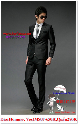 Ảnh số 19: Áo Vest Nam, Áo Vest Dior - NYQ 07, Áo Vest Hàn, Áo Vest Cưới - Giá: 650.000