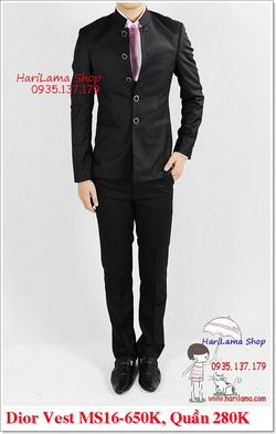 Ảnh số 22: Áo Vest Nam, Áo Vest Dior - NYQ 16, Áo Vest Hàn, Áo Vest Cưới - Giá: 650.000