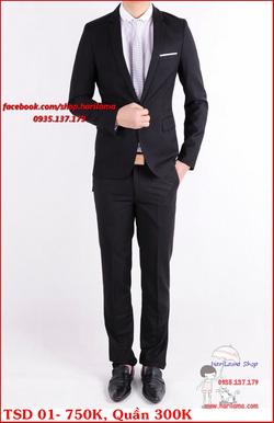 Ảnh số 32: Áo Vest Nam, Áo Vest Nam Style Hàn, Vest Cưới, Vest TSD MS01 - Giá: 750.000