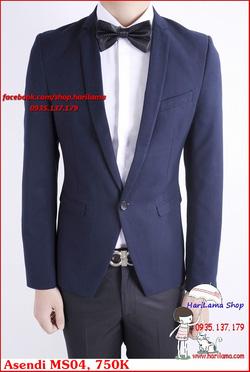 Ảnh số 71: Áo Vest Nam, Áo Vest Nam Style Hàn, Vest Cưới, Vest Asendi MS04, 750K - Giá: 750.000