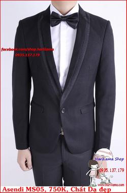 Ảnh số 72: Áo Vest Nam, Áo Vest Nam Style Hàn, Vest Cưới, Vest Asendi MS05, 750K - Giá: 750.000
