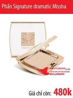 Ảnh số 25: Phấn Signature dramatic whitening pact SPF50 Missha - Giá: 480.000