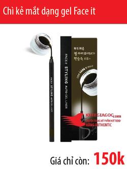 Ảnh số 35: Chì kẻ mắt dạng gel Face it styling auto gel liner - Giá: 150.000