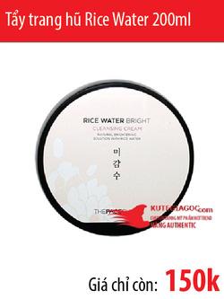 Ảnh số 62: Tẩy trang hũ Rice Water Bright Cleansing Cream 200ml - Giá: 150.000
