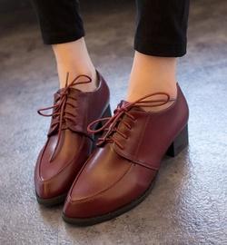 Ảnh số 28: Giày Oxford mũi nhọn OF05 - Giá: 250.000