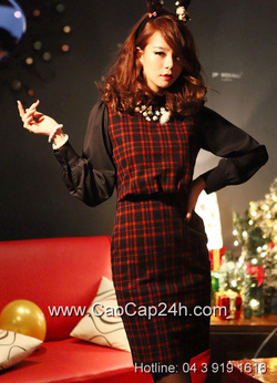 Ảnh số 35: Váy liền thân Hàn Quốc D2147 - Giá: 1.950.000
