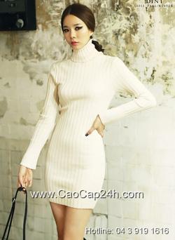 Ảnh số 32: Váy liền thân Hàn Quốc D-2307 - Giá: 1.080.000