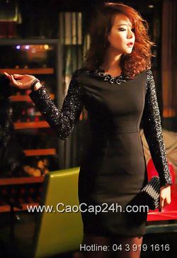 Ảnh số 31: Váy liền thân Hàn Quốc D2152 - Giá: 2.480.000