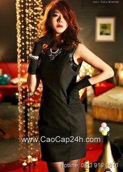 Ảnh số 27: Váy liền thân Hàn Quốc D2151 - Giá: 2.300.000