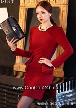 Ảnh số 24: Váy liền thân Hàn Quốc D2145 - Giá: 2.040.000