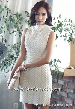Ảnh số 21: Váy liền thân Hàn Quốc D2162 - Giá: 1.780.000