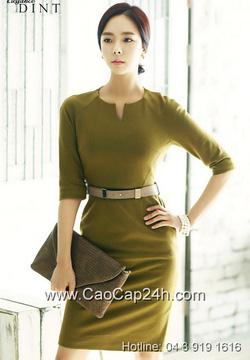 Ảnh số 20: Váy liền thân Hàn Quốc D2160 - Giá: 2.340.000