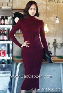 Ảnh số 19: Váy liền thân Hàn Quốc D-2340 - Giá: 1.300.000