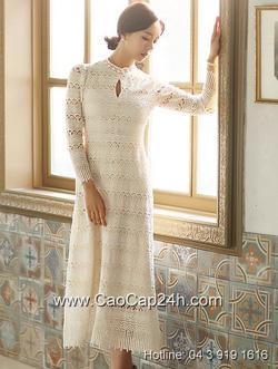 Ảnh số 18: Váy liền thân Hàn Quốc D2157 - Giá: 3.090.000