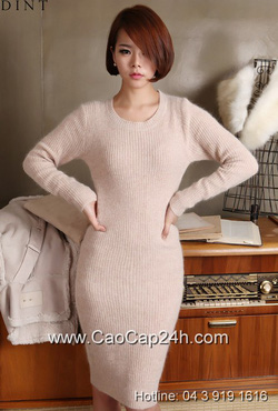 Ảnh số 17: Váy liền thân Hàn Quốc D-2334 - Giá: 1.710.000