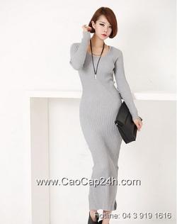 Ảnh số 16: Váy liền thân Hàn Quốc D-2341 - Giá: 1.210.000