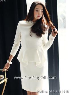 Ảnh số 11: Váy liền thân Hàn Quốc D2155 - Giá: 2.560.000