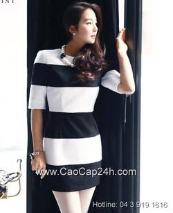 Ảnh số 10: Váy liền thân Hàn Quốc D2169 - Giá: 1.730.000