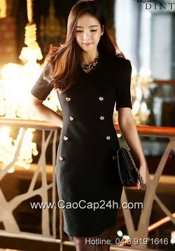 Ảnh số 7: Váy liền thân Hàn Quốc D2173 - Giá: 2.430.000