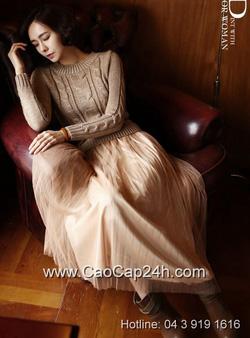 Ảnh số 2: Váy liền thân Hàn Quốc D-2363 - Giá: 1.390.000