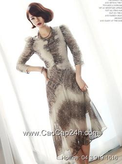 Ảnh số 45: Váy liền thân Hàn Quốc D2177 - Giá: 1.860.000