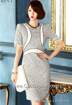 Ảnh số 41: Váy liền thân Hàn Quốc D2176 - Giá: 2.170.000