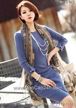 Ảnh số 36: Váy liền thân Hàn Quốc D2183 - Giá: 1.780.000