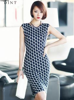 Ảnh số 1: Váy liền thân Hàn Quốc D2181 - Giá: 2.130.000