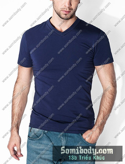 Ảnh số 84: áo thun cổ tim - Giá: 120.000