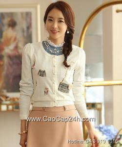 Ảnh số 17: Áo cardigan Hàn Quốc 24261 - Giá: 1.570.000
