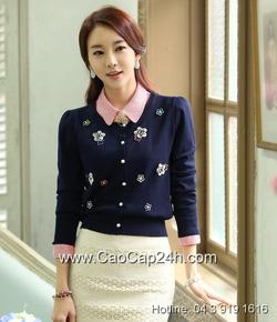 Ảnh số 14: Áo cardigan Hàn Quốc 24293 - Giá: 1.520.000