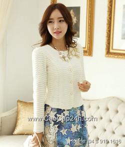 Ảnh số 10: Áo cardigan Hàn Quốc 24357 - Giá: 2.030.000