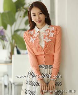 Ảnh số 6: Áo cardigan Hàn Quốc SA14KN002 - Giá: 1.610.000