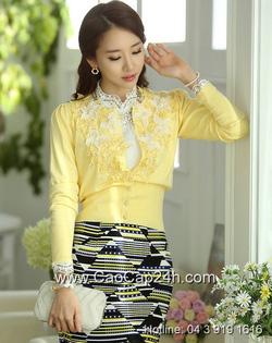 Ảnh số 5: Áo cardigan Hàn Quốc SA14KN002 - Giá: 1.610.000