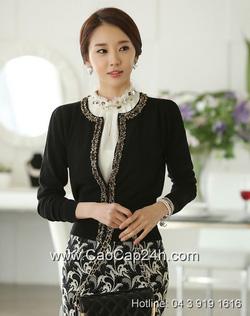 Ảnh số 4: Áo cardigan Hàn Quốc SA14KN001 - Giá: 1.380.000
