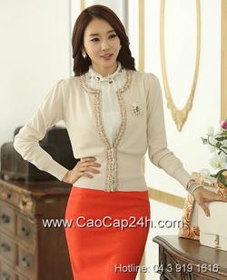 Ảnh số 3: Áo cardigan Hàn Quốc SA14KN001 - Giá: 1.380.000