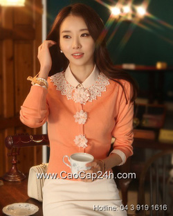 Ảnh số 2: Áo cardigan Hàn Quốc 24490 - Giá: 1.610.000