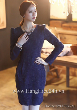 Ảnh số 2: Váy liền thân Hàn Quốc D2142 - Giá: 2.170.000