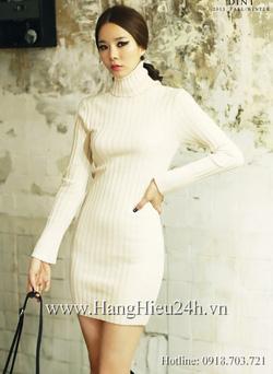 Ảnh số 4: Váy liền thân Hàn Quốc D-2307 - Giá: 1.080.000