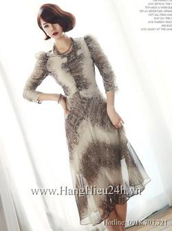 Ảnh số 35: Váy liền thân Hàn Quốc D2177 - Giá: 1.860.000