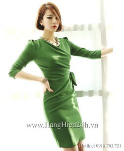 Ảnh số 45: Váy liền thân Hàn Quốc D2184 - Giá: 1.860.000